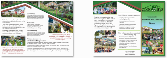 Preview of the brochure