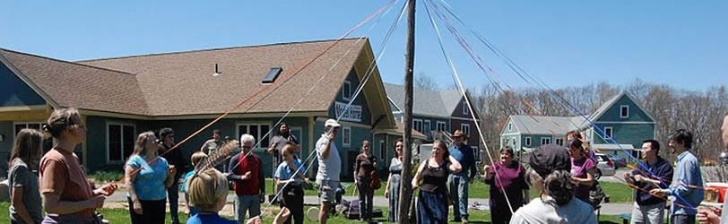 The Maypole at Mosaic Commons
