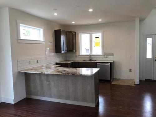 Kitchen.  Under Construction.