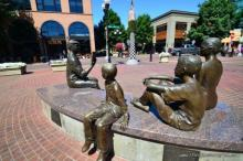 the heart of downtown Eugene