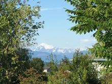 Mount Baker seen from our site